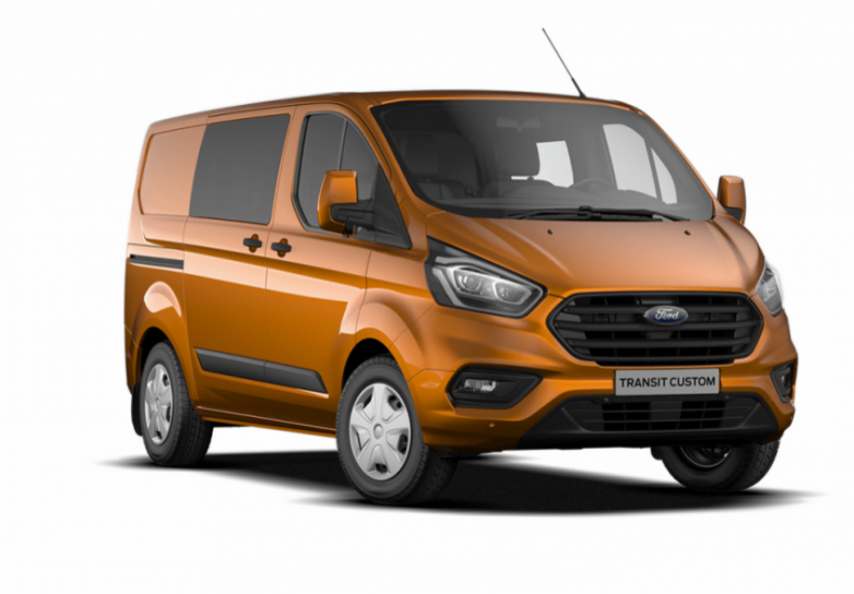 ford transit custom double cabine l1h1 2 0 tdci 130 cv 340