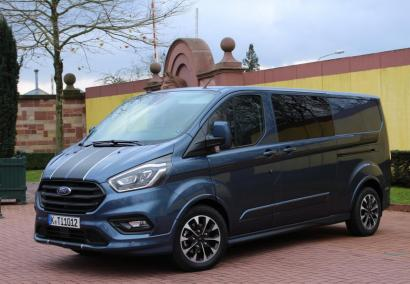 photo FORD TRANSIT CUSTOM DOUBLE CABINE L2H1 2.0 TDCI 130 CV 320 TREND Neuf sur commande