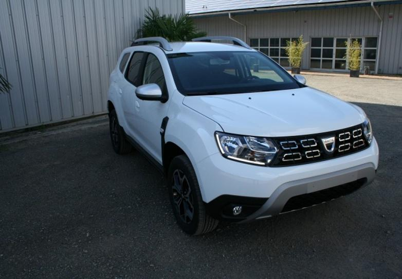 dacia nouveau duster prestige 1 5 bue dci 115 cv 4x2 neuf stock et arrivage autoimport72 en. Black Bedroom Furniture Sets. Home Design Ideas