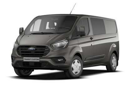 photo FORD TRANSIT CUSTOM FOURGON D.C L1H1 2.0 ECOBLUE 170 CV 320 BVA TREND BUSINESS 6 PL Neuf stock et arrivages
