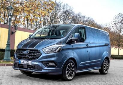 photo FORD TRANSIT CUSTOM FOURGON L1H1 2.0 TDCI 185 CV mHEV 320 SPORT Neuf sur commande