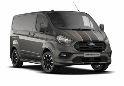 photo FORD TRANSIT CUSTOM FOURGON L1H1 2.0 ECOBLUE 185 CV mHEV 320 SPORT 3 PL Neuf stock et arrivages