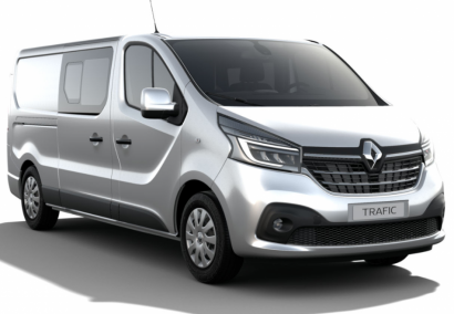 photo RENAULT NOUVEAU TRAFIC DC 3.0T 5 PL GRAND CONFORT L2H1 2.0 Blue DCI 170 CV EDC Neuf stock et arrivages