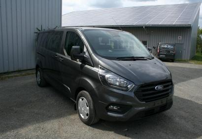 photo FORD TRANSIT CUSTOM FOURGON D.C L2H1 2.0 ECOBLUE 130 CV 320 TREND BUSINESS 5 PL Neuf stock et arrivages